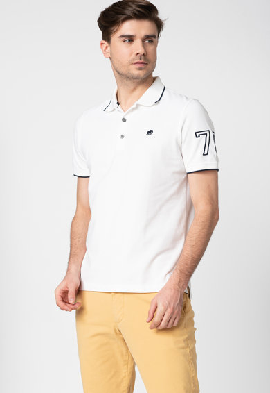 Banana Republic Tricou polo din material pique Barbati