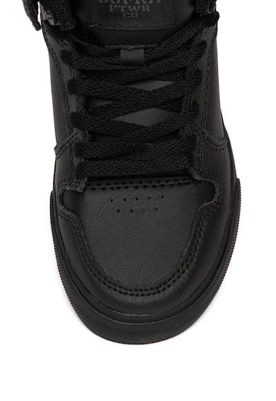Supra Pantofi sport mid-high de piele cu garnituri de piele ecologica Vaider Fete