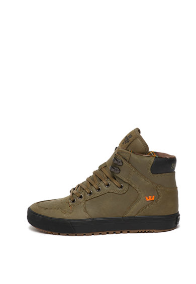 Supra Pantofi sport mid-high de piele Vaider Barbati