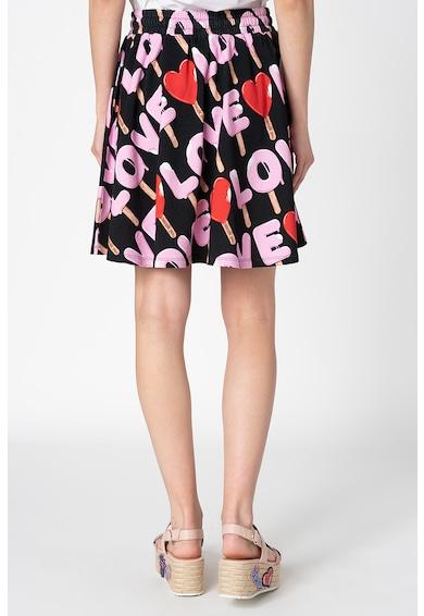 Love Moschino Fusta cu model logo supradimensionat Bias Femei