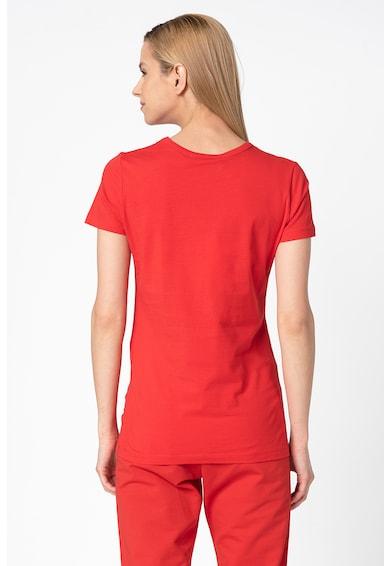 Love Moschino Tricou cu decolteu la baza gatului si aplicatii din strasuri Femei