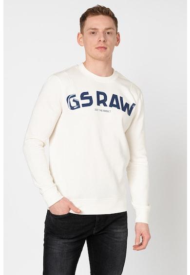 G-Star RAW Bluza sport cu aplicatie logo cauciucata Barbati