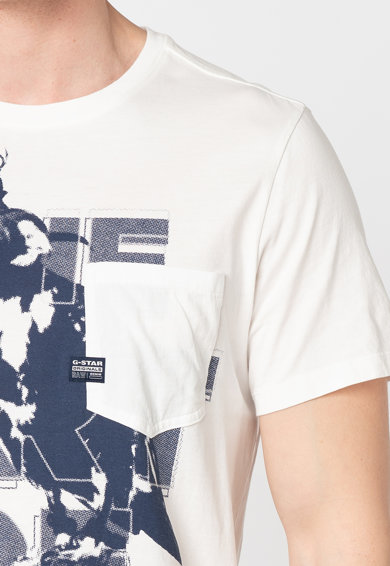 G-Star RAW Tricou regular fit cu imprimeu grafic Barbati