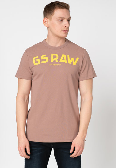 G-Star RAW Tricou cu logo supradimensionat Barbati