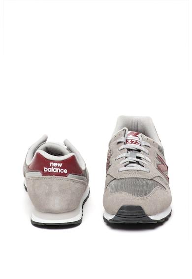 New Balance Pantofi sport cu garnituri de piele intoarsa 373 Barbati