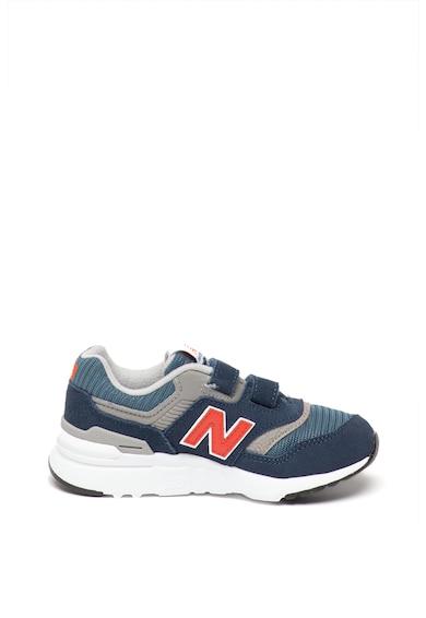 New Balance Pantofi sport cu velcro si detalii de piele intoarsa 997H Fete
