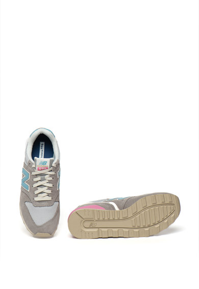 New Balance Pantofi sport cu model colorblock si garnituri de plasa si piele intoarsa 996 Femei