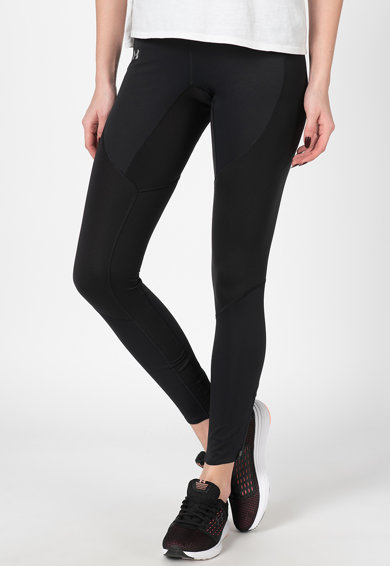 Under Armour Colanti elastici cu slituri cu fermoar in zona gleznelor, pentru fitness Femei
