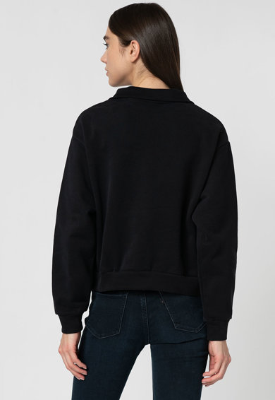 Levi's Bluza cu fenta cu fermoar si logo Femei