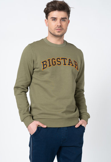 Big Star Bluza sport cu imprimeu logo Emmalyn Barbati