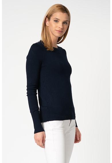 Only Pulover din tricot fin cu decolteu la baza gatului Venice Femei