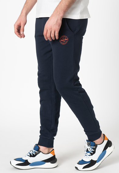 Jack&Jones Pantaloni sport de bumbac Gordon Barbati
