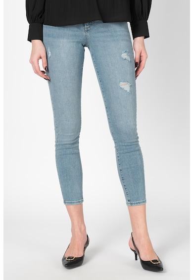 Vero Moda Прилепнали дънки Sophia със захабен ефект Жени