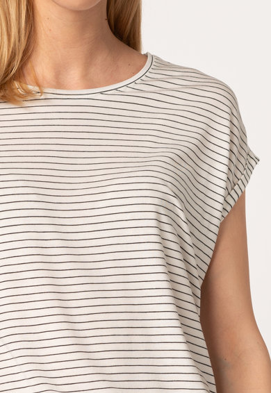 Vero Moda Раирана тениска Ava с лиосел Жени