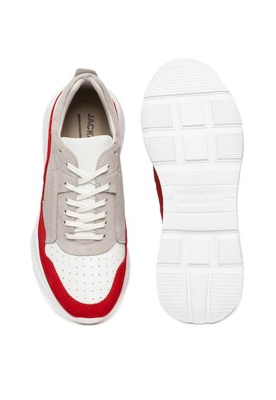 Jack&Jones Pantofi sport cu insertii de piele intoarsa Munky Barbati