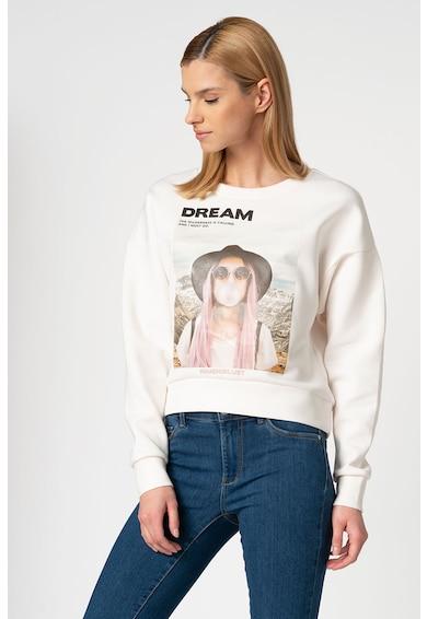 Only Bluza sport cu decolteu la baza gatului Ziggy Femei