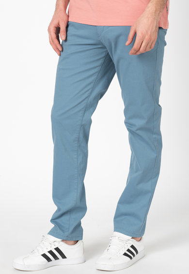 Selected Homme Pantaloni chino drepti din amestec de bumbac organic Paris Barbati