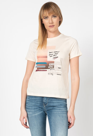 Vero Moda Тениска Nature Жени