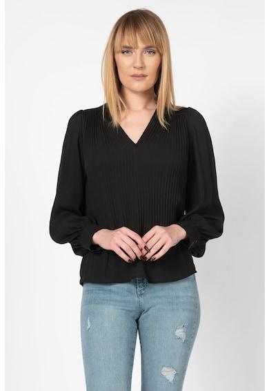 Vero Moda Bluza vaporoasa din crep, cu pliuri pe partea din fata Mackenzie Femei