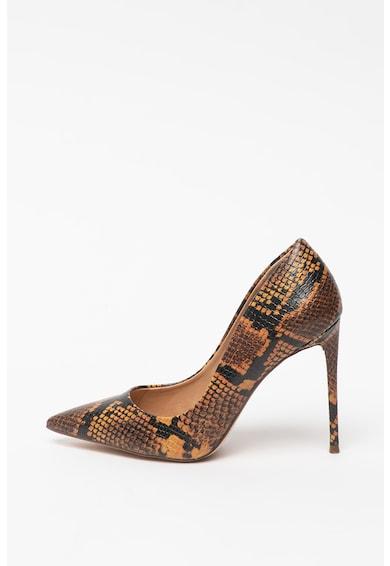 Steve Madden Pantofi stiletto de piele ecologica cu aspect de piele de sarpe Vala Femei