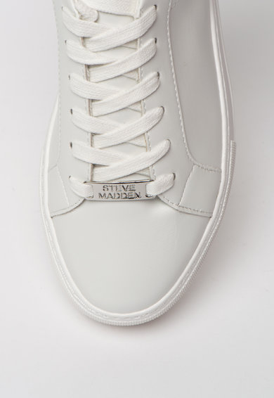 Steve Madden Pantofi sport de piele ecologica cu detalii animal print Merger Femei
