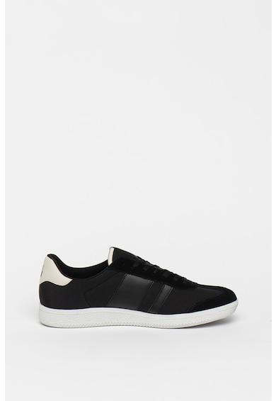 Napapijri Pantofi sport cu garnituri din piele intoarsa si piele ecologica Court Barbati