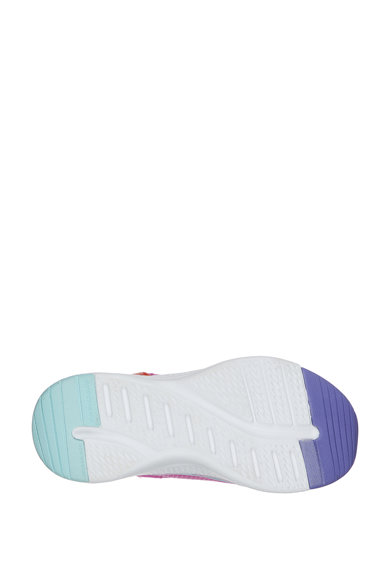 Skechers Pantofi sport din material usor, cu inchidere velcro Solar Fuse Fete