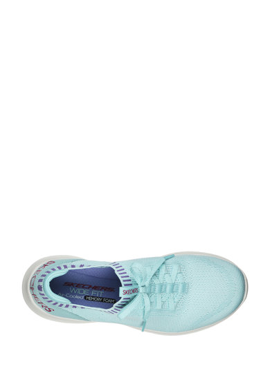 Skechers Pantofi sport slip-on cu model tricotat Ultra Flex - Rapid Attention Femei