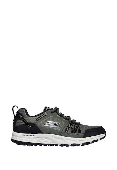 Skechers Pantofi sport cu insertii de piele Escape Plan Barbati