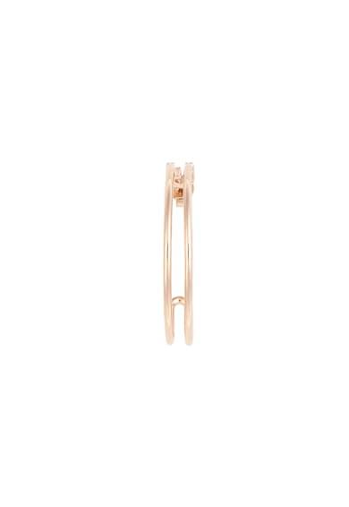 Furla Cercei rotunzi decorati cu cristale Swarovski® New Femei