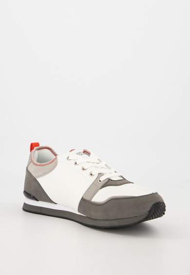 Trussardi Jeans Pantofi sport din piele intoarsa si material textil Barbati