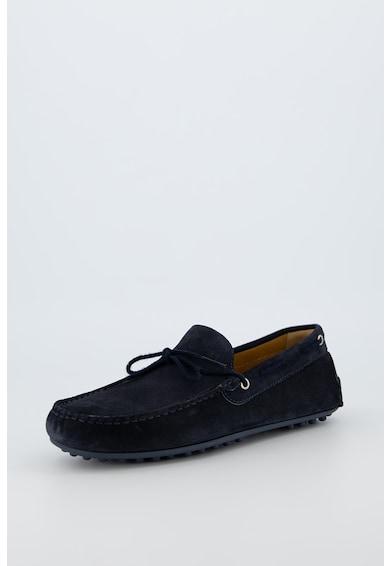 Trussardi Jeans Pantofi loafer de piele intoarsa Driver Barbati