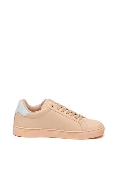 Trussardi Jeans Pantofi sport din piele ecologica cu logo cu perforatii Femei