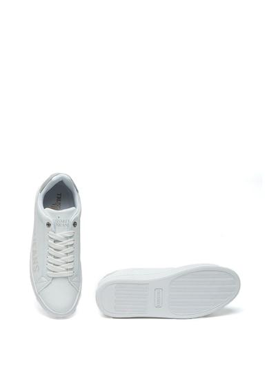 Trussardi Jeans Pantofi sport din piele ecologica cu logo lateral Femei