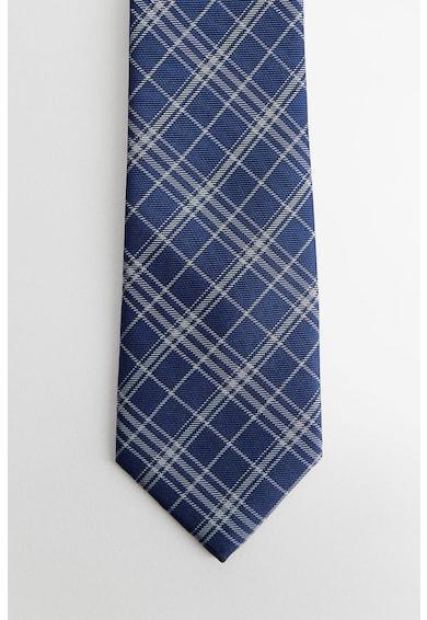 Mango Cravata cu model in carouri Barbati