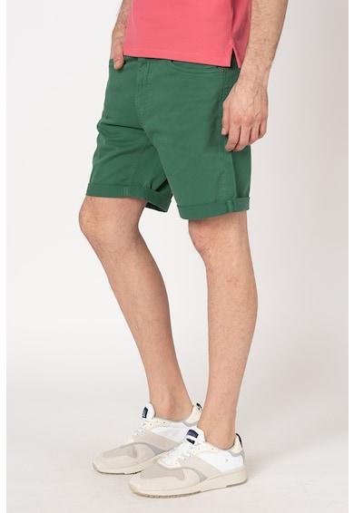 Gant Pantaloni scurti din denim, cu talie medie Barbati