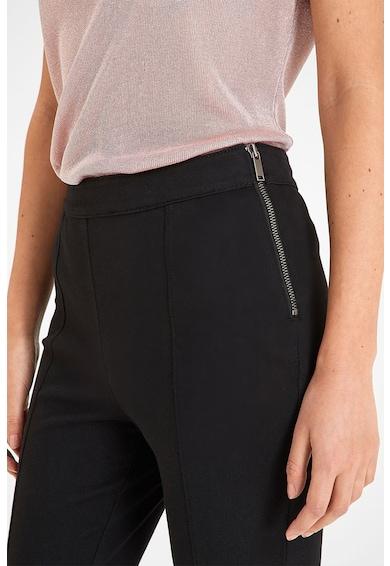 NEXT Pantaloni din amestec de bumbac, cu fermoar lateral Femei