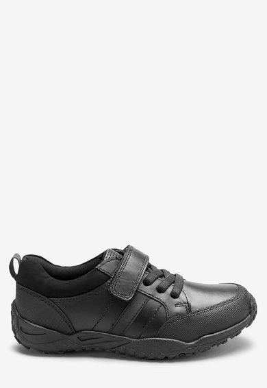 NEXT Pantofi sport de piele, cu benzi cu velcro Baieti