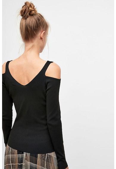 NEXT Bluza cu decupaj pe umar si striatii Femei