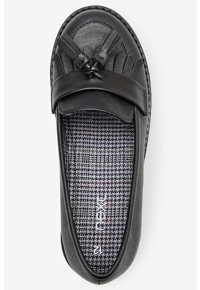 NEXT Pantofi sport de piele ecologica, cu canaf Fete