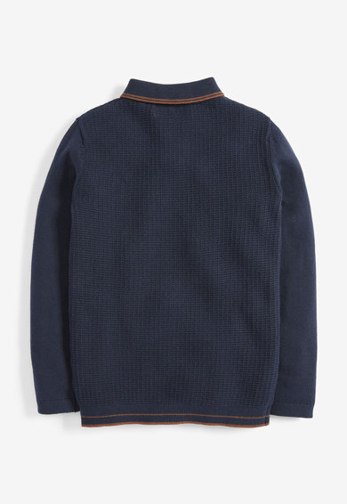 NEXT Bluza polo din tricot Baieti
