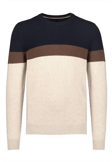 NEXT Pulover din amestec de lana cu model colorblock Barbati