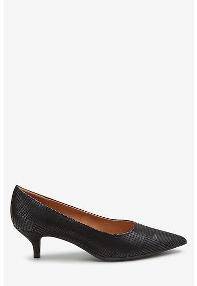 NEXT Pantofi de piele ecologica cu toc kitten Femei