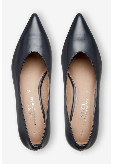 NEXT Pantofi de piele cu varf ascutit si toc kitten Femei