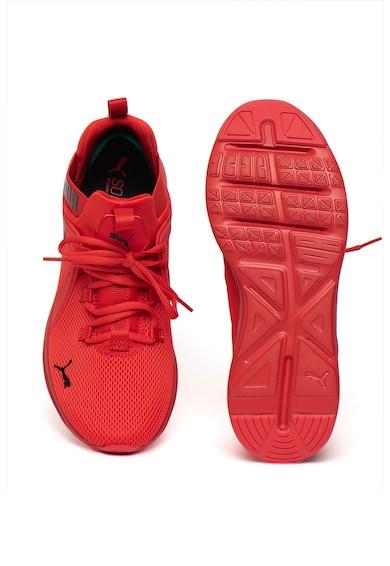 Puma Pantofi cu insertii de plasa, pentru alergare Enzo 2 High Risk Barbati