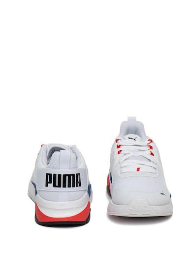 Puma Pantofi sport de piele ecologica si material textil Anzarun Femei