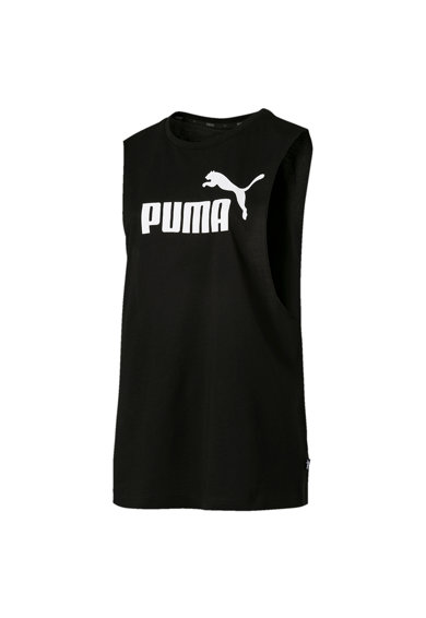 Puma Top cu imprimeu logo Essentials + Cut Off Femei