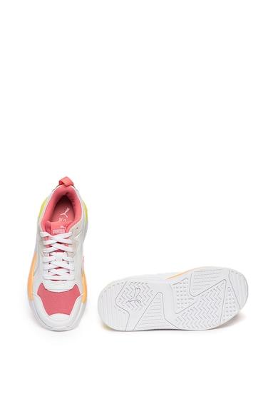 Puma Pantofi sport unisex de piele ecologica X-Ray Game Femei