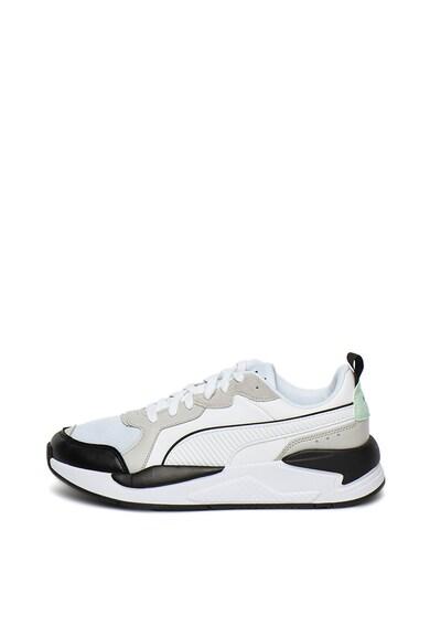 Puma Pantofi sport unisex de piele ecologica, cu garnituri contrastante X-Ray Game Femei