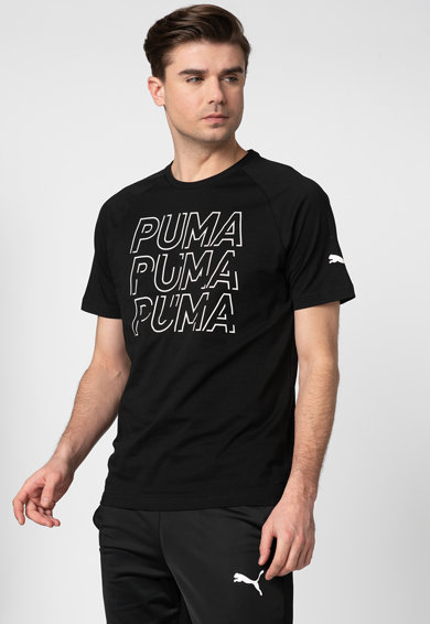 Puma Tricou regular fit cu imprimeu logo si dryCELL Modern Barbati